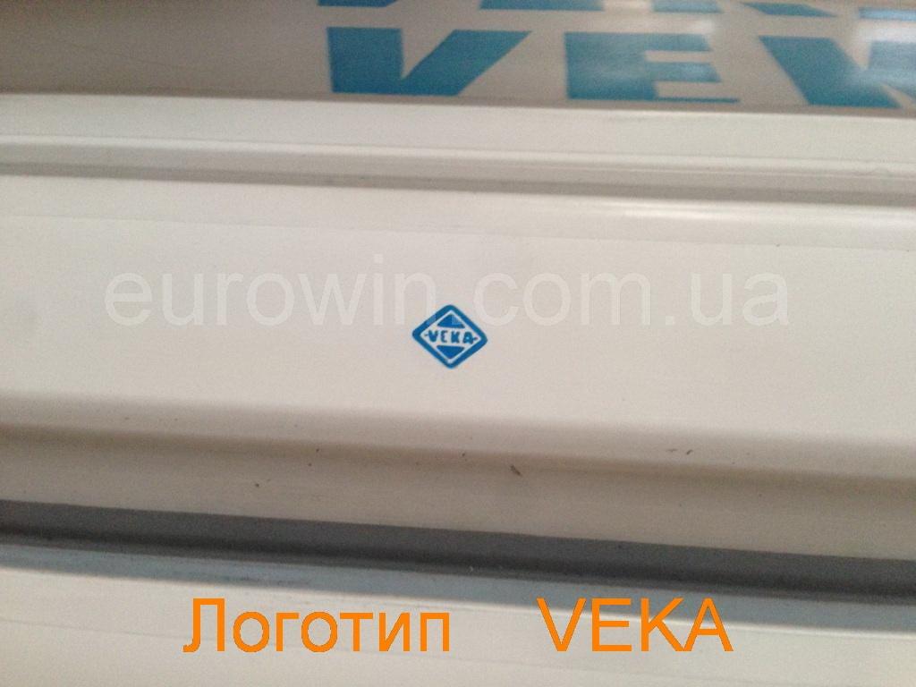 Логотип Veka на профиле