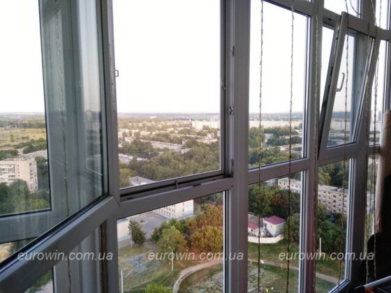 Панорамный балкон Харьков