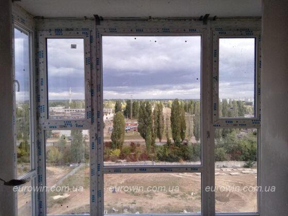Панорамный балкон Жилстрой-2