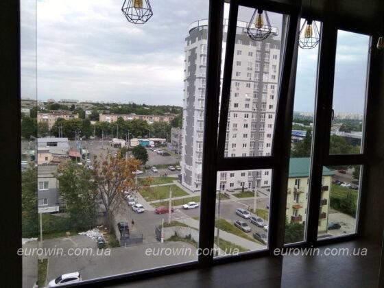 Панорамный балкон ЖК Маршал