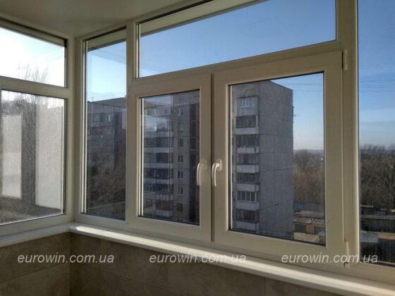 Рама на балкон Жилстрой-2 Харьков